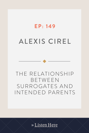 The Relationship Between Surrogates And Intended Parents With Alexis Cirel