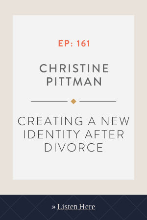 Creating a new identity after divorce